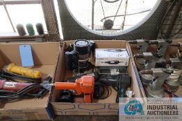 (LOT) MISCELLANEOUS ELECTRIC POWER TOOLS