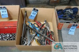 (LOT) MISCELLANEOUS HAND TOOLS