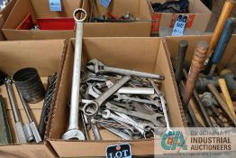 (LOT) MISCELLANEOUS COMBINATION WRENCHES