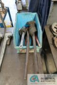 (LOT) MISCELLANEOUS STRAP WRENCHES