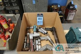 (LOT) MISCELLANEOUS PNEUMATIC POWER TOOLS