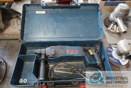 BOSCH MODEL 11224 VSR BUILIDING ELECTRIC ROTO-HAMMER