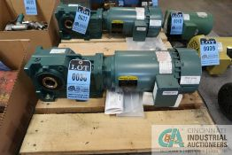 DODGE QUANTIS RHB REDUCER WITH 2 HP BALDOR MOTOR **NEVER USED**