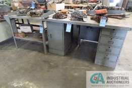 MISCELLANEOUS SIZE BENCHES AND CABINETS **DELAYED REMOVAL - PICKUP 10-12-2021**