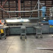 """PLATE SAW, CAN CUT 9"""" THICK PLATE MAX, MAX WIDTH FOR CUTTING: 145"""", MAX LENGTH FOR CUTTING: 168"""""""