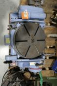 OMT 16'' TILTING PRECISION ROTARY TABLE S/N: 155