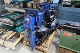 AMH BLUE BOY HORIZONTAL PIPE BENDER WITH DIES, MOD: 153MSA, SN: 2180, 230 VOLTS 1 PHASE