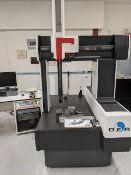DEA CMM (COORDINATES MEASURING MACHINE) MOD: GAMMA 1102, W/ TUTOR CONTROL