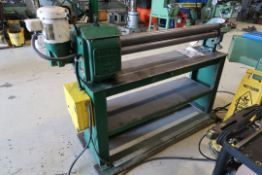 BROWN & BOGGS 48'' POWER ROLL MOD: 3048, SN: 77264, 115 VOLTS 1 PHASE