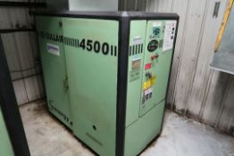 SULLAIR 60 HP SCREW TYPE AIR COMPRESSOR MOD: 4509/A, SN: 200706270090, 52205 HOURS, 575 VOLTS **