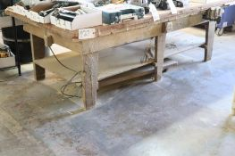 Workbench w/ vise