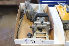 Porter cable model 557 plate jointer