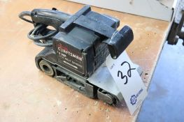 "Craftsman 3"" belt sander"