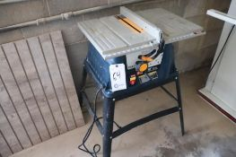 "Ryobi 10"" portable table saw"