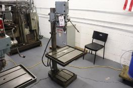 "Boice Crane 18"" geared head drill press"