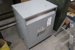 Jefferson Electric 480/240/3ph 45 KVA transformer