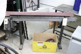 Shop made belt sander