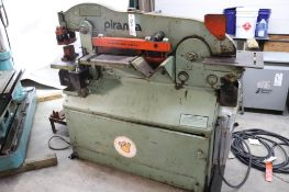 Piranha P50 50T hydraulic iron worker
