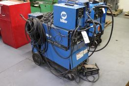 Miller shopmaster 300 w/ feeder & chiller