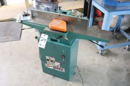 "Grizzly G1182Z 6"" jointer w/ knives & setting fixture"
