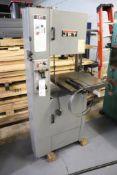Jet VBS-1610 vertical bandsaw w/ blade welder