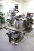 Clausing Kondia vertical milling machine.