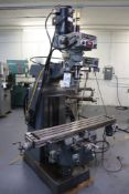 HH Roberts Vertical milling machine W/VFD head 1ph
