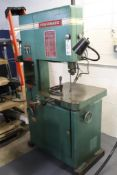"Powermatic No 89 20"" metal cutting bandsaw"