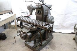 Kearney & Trecker 2H-Universal horizontal milling machine