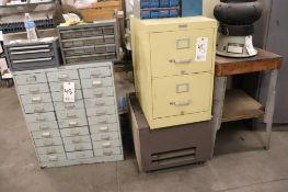 File cabinet w/ rolling base