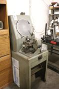 "Covell No.14 14"" optical comparator"