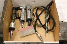 Pneumatic rotary tools