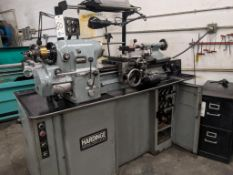Hardinge HLV-H precision tool room lathe w/ tooling