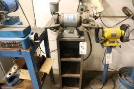 Baldor 510 1/2 hp tool grinder w/ stand