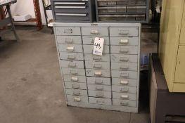 "Bin cabinet w/ hardware 30"" x 16"" x 37"""