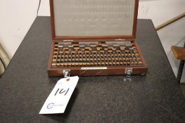 Mitutoyo 516-902 gauge block set