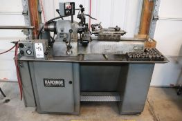 Harding VBS/ DV59 w/ bar feeder & pneumatic collet closer