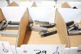 Carbide inset lathe tools