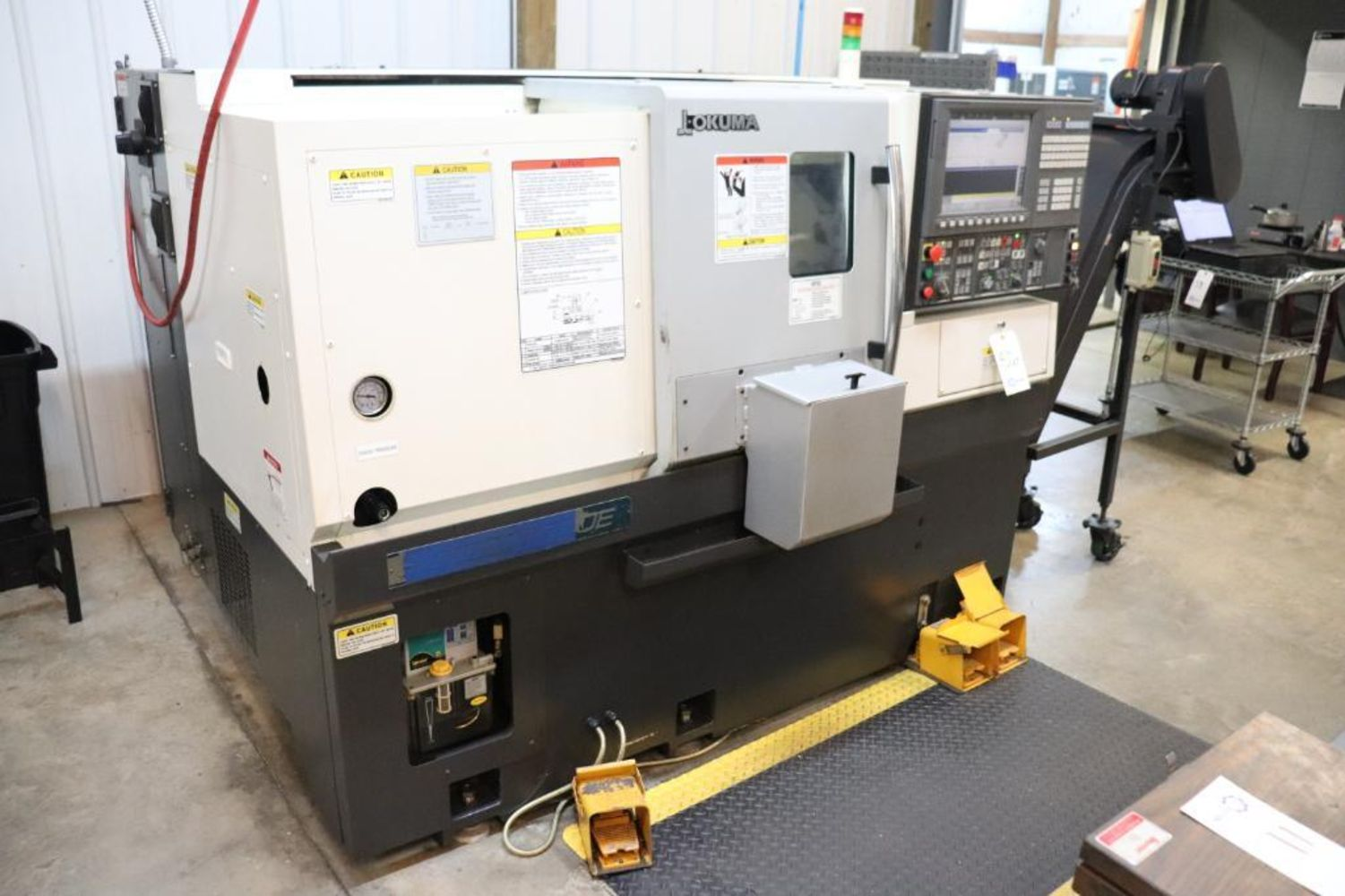 Well Maintained CNC Machine Shop Auction
