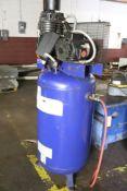 Vertical compressor 7.5hp/1ph