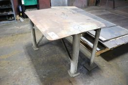 """Welding table 5/16"""" plate"""