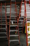 Louisville 10' step ladder - damaged, see pictures