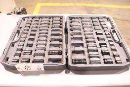 "Ingersoll - rand impact socket set, 1/2"" drive"
