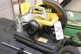 """DeWalt DW872 14"""" abrasive cutoff saw"""