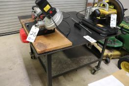 """Rolling welding table 48"""" x 48"""" x 34.5"""" approx."""