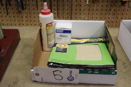 Sand paper & adhesive