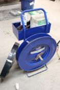 Uline poly banding cart w/ tools
