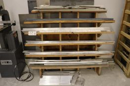 Cantilever rack w/ Aluminum stock