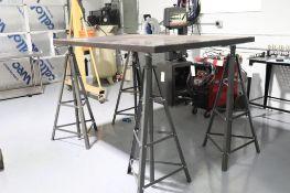 """Millrite cast iron surface plate 47"""" x 75"""" x 2"""""""