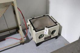 Black Bull portable abrasive blast cabinet